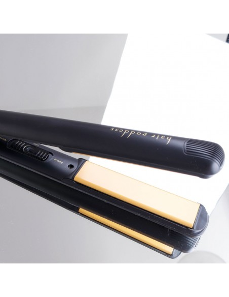 Hg Evolution Twin Power Hair Straightener gold